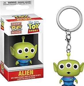 Funko-Pocket Keychain: Toy Story: Alien Pop Llavero