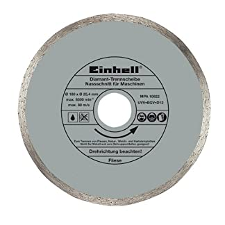 Einhell 4301170 Disco Diamante 180×25,4×1,6mm, 4mm