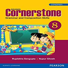 Cornerstone 8 : English Grammar & Composition Book by Pearson for CBSE Class 8
