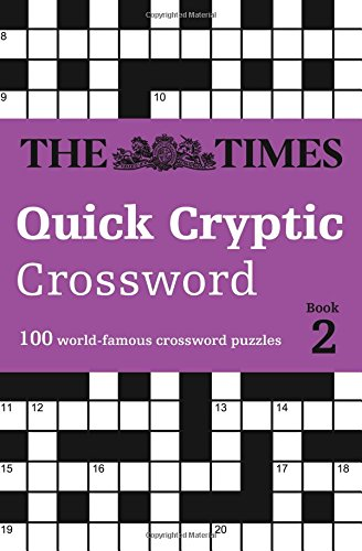 The Times Quick Cryptic Crossword book 2 (Times Mind Games)