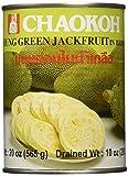 Chaokoh Junge grüne Jackfrucht im Salzwasser