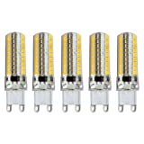 SODIAL(R) 5X G9 8W Led 2835SMD Capsule Bulb Light Bulb Lamps Replace Halogen 200-240V Main Colour:Warm White Wattage:G9 8W Dimmable