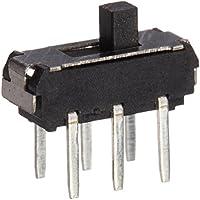 20PCS On/Off/On DPDT 2P2T 6Pin Vertical Dip Slide Schalter 9x 4x 3,5mm