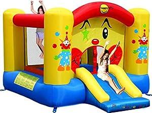 Happy Hop- Slide and Hoop Bouncer, (9201R)