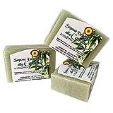 Hanfseife – 100% Natürliche Seife – VeganOk – 3 Stck/je 100 gr. - Vorteilspack