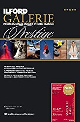 Ilford Galerie Prestige Smooth Pearl - 11 X 17 Inches, 25 Sheets (2001749)