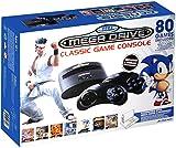 Sega Mega Drive Classic Game Console Consola giochi+ 80 Giochi + Slot per Cartucce