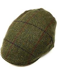 Christys Fine Scottish Tweed Flat Cap - Balmoral. Lined. 100% Pure British Wool