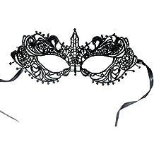 Máscara de encaje de Halloween para mujer
