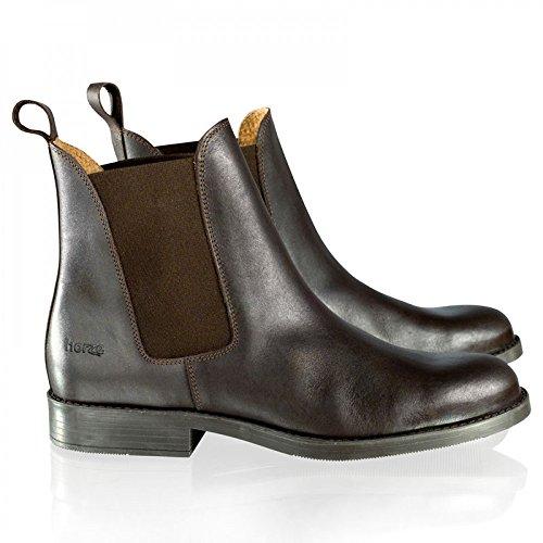 Horze Classic Jodhpurstiefel aus Leder Farbe:-Dunkelbraun (DBR) Gr:-35