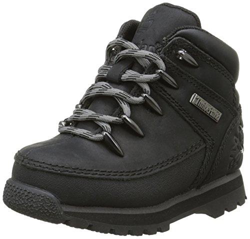 Timberland Eurosprint, Sneakers Hautes garçon Noir (Black)