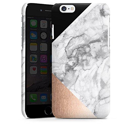 Apple iPhone 5s Housse Outdoor Étui militaire Coque Marbre Rose Gold Motif Cas Premium brillant