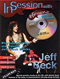 In Session with Jeff Beck: Guitar TAB (Book & CD) by Beck, Jeff (1999) Sheet music