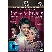 Rot und Schwarz - Der komplette Kino-Zweiteiler mit Gérard Philipe (DDR-Fassung plus BRD-Kinofassung) - Filmjuwelen [3 DVDs]