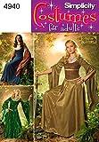 Simplicity 4940 N5 - Patrones de costura (disfraces para mujer)