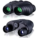 UrChoiceLtd® Binocular, Qanliiy 10X25 Fashion Portable HD Zoom Blue Film BAK4 Night Vision Binoculars Telescope for Kids Sky Star Gazing & Birds Watching Traveling SightSeeing Climbing Match Concert