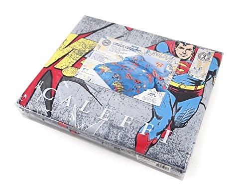 Copripiumino Superman.Completo Copripiumino Una Piazza Caleffi Warner Bros Superman