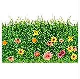 Grüner Rasen 3D Boden Aufkleber Vinyl Diy Gras Wohnkultur Aufkleber Für Kinderzimmer Baby Schlafzimmer Kindergarten Dekoration