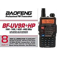 BAOFENG BF-UV9RHP 8 WATT 144-430 MHz GARANZIA E MANUALE ITALIANO