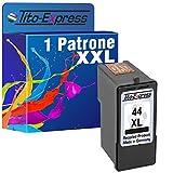 PlatinumSeries 1x Cartuccia stampante per Lexmark 44 XL Nero X4975 X4850 X4875 X4950 X4975 X6570 X6575