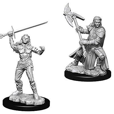 Dungeons & Dragons D&D: Nolzur's Marvelous Unpainted Minis: Female Half-Orc Fighter