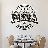 cooldeerydm Pizzeria Logo Fenster Poster authentische