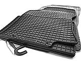 Gummi Fußmatten Nissan X-Trail (T32) 2014- Original Qualität Auto Gummimatten 4-teilig schwarz