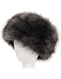 Soul Young Sombrero de Invierno del Estilo Ruso de la Piel Falsa de Las Mujeres Sombreros de Las Tapas de esquí de la Moda