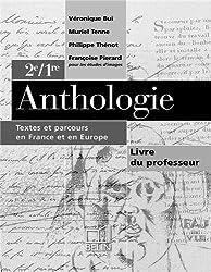 Bac français, anthologie, prof