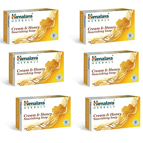 Himalaya Herbals Honey and Cream Soap, 125g (Pack of 6)