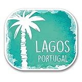 2 x 30cm/300 mm Lagos Portugal Autocollant de fenêtre en verre Voiture Van Locations #6337
