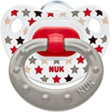 NUK Happy Days 6-18mths Silicone Orthodontic Soother (2 pack)