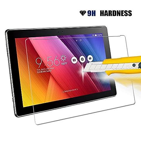 Beepole Asus ZenPad 10Z300C protecteur d'écran–Amazing 9H anti-éclatement en verre trempé film de protection pour Asus ZenPad 10Z300C/Z300cg/Z300CL/Z300cx/Z300cng/Z300cnl/Z300cxg