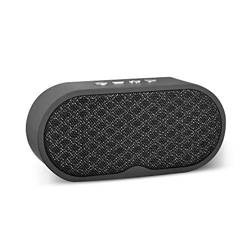 Tragbare Bluetooth-Speaker Woodgrain Technology HD Stereo Bluetooth Lautsprecher Support TF Card U Disk Phone Call FM Radio