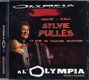"""CD Accordéon """"Sylvie Pullès à L'Olympia"""""""