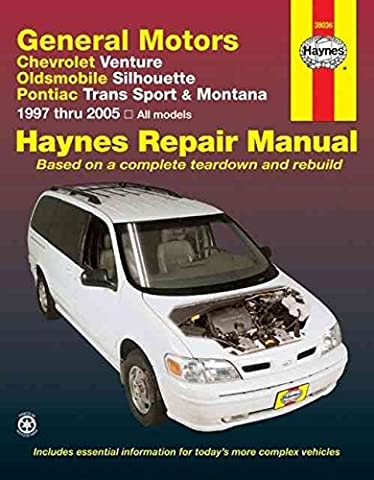 [(Gm : Chevrolet Venture, Oldsmobile Silhouette, Pontiac TRANS Sport & Montana (97)] [By (author) Bob Henderson ] published on (May, 2007)