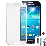 Samsung Galaxy S4 mini i9195 Display Glas Touch Screen Weiß + Werkzeug