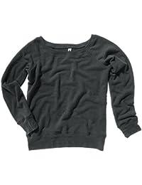 Bella+Canvas Sponge fleece wideneck sweatshirt