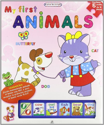 My first animals (Mi Primer Libro De Ingles/ My First English Book) por Aa.Vv.