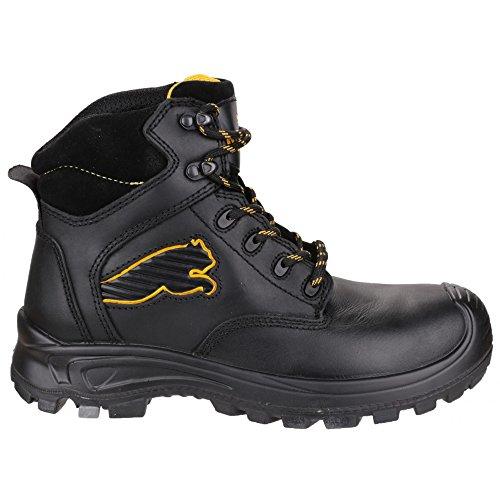 Puma Safety Borneo Mid - Chaussures montantes de sécurité - Homme Noir