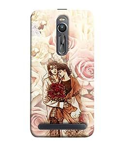 PrintVisa Designer Back Case Cover for Asus Zenfone 2 ZE551ML (Devdas parvathi Real love)