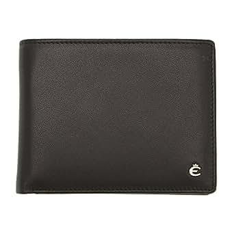 Harry esquire portefeuille en cuir noir 12 cm