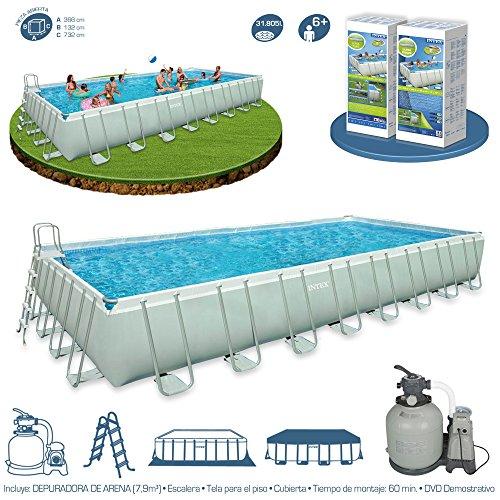 piscina-intex-fuoriterra-732x366x132-rettangolare-ultraframe-pompa-a-sabbia-new