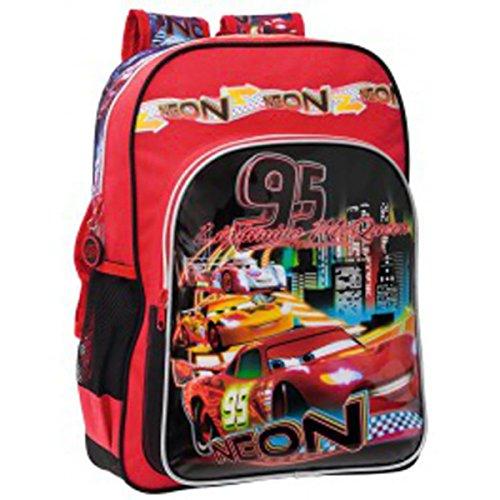 CARS - Grand cartable 40 cm Disney Cars 95 Lighting Mc Queen