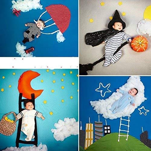 (msai Halloween Kürbis Baby Newborn Fotografie Hintergründe Kamera Foto Hintergründe für Foto Studio)
