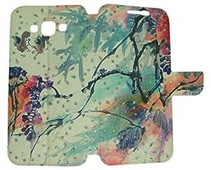 CASSIEY Designer Fancy Flip Cover Case For Samsung Galaxy S4 9500 - DESIGN10