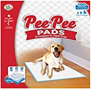 Pet Select Pee-Pee Pet Training and Puppy Pads, 100 Count, 22""