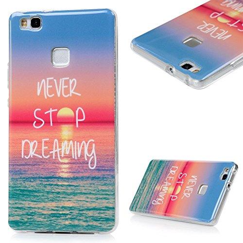 Huawei P9 Lite Funda Silicona ,YOKIRIN TPU Cover Case Cáscara Ultra Slim Moviles Libres Pintado Protective Protectora Para Huawei P9 Lite -