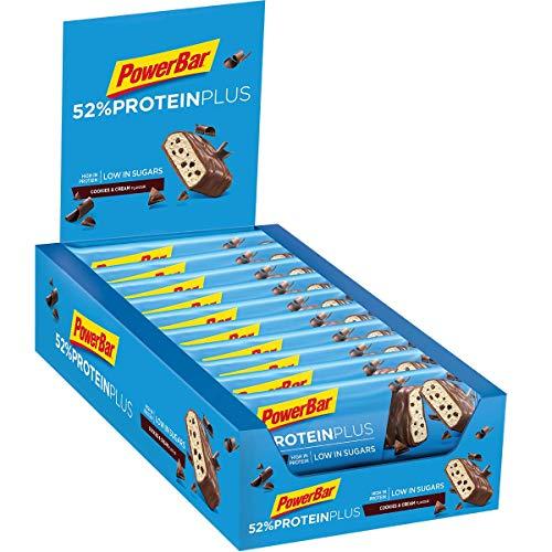 Powerbar Protein Plus Bar 52% (20x50g) 1000 g 20 Unidades