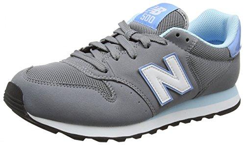 New Balance Damen Gm_gw500v1 Sneakers grau - hellblau - weiß
